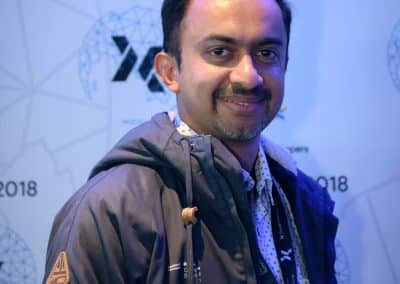 Shrinath at the Google Developers Expert Summit